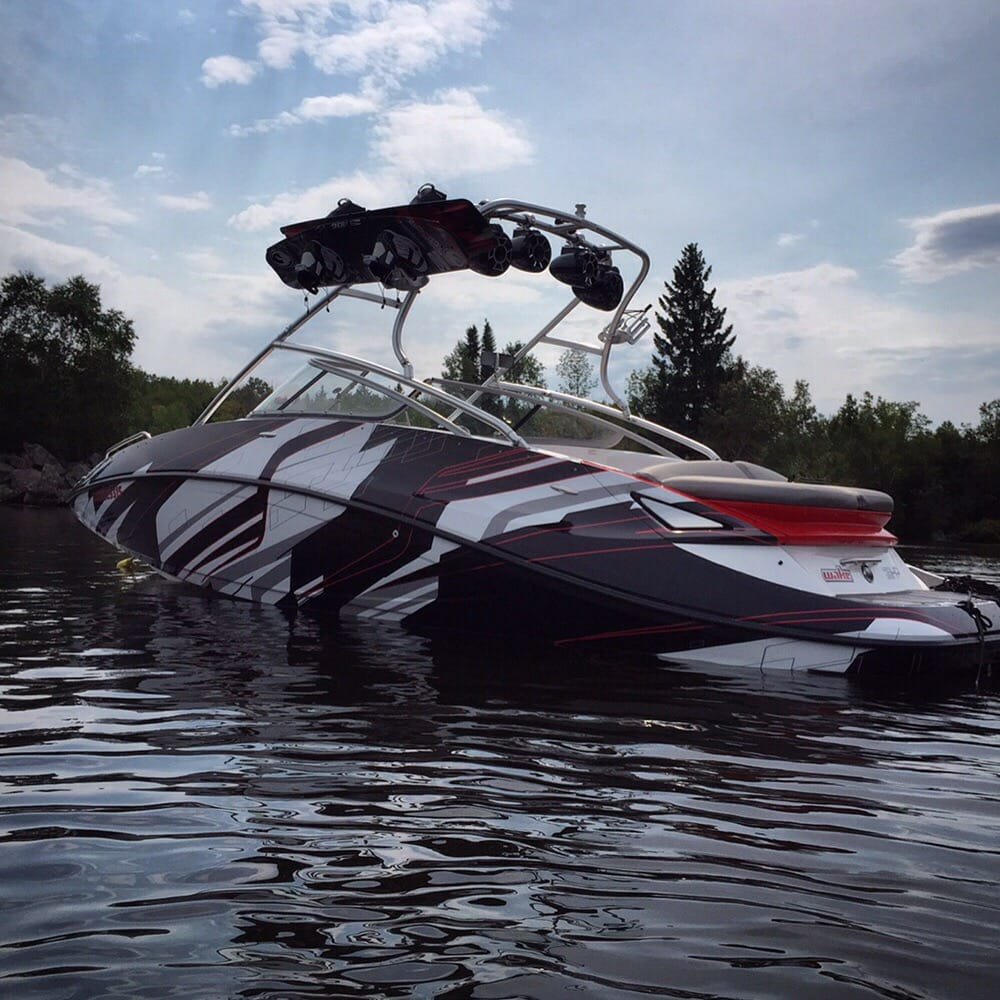 seadoo challenger boat wrap