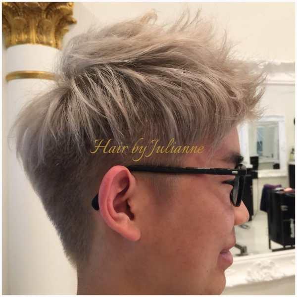 Ash Blonde Hair Dye Men