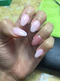 very pretty natural nails. Thank you! - Yelp