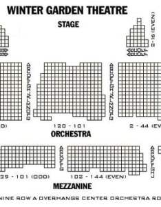 Photo of winter garden theatre new york ny united states seating chart also photos  reviews performing arts rh yelp