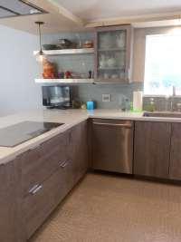 Kitchen floor and backsplash from CTM   Yelp
