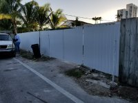 Dura fence installation in Miami beach - Yelp