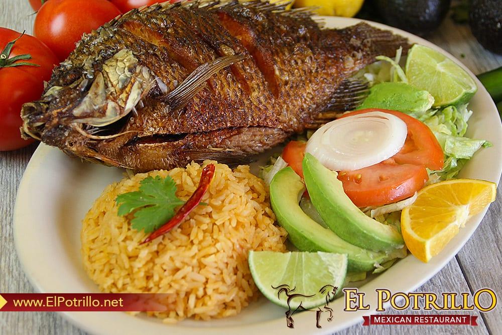 Mojarra Frita  El Potrillo Mexican Restaurant  Yelp