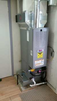 Downflow furnace installation - Yelp