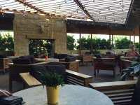 Modern Restaurant Patio