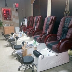 top rated pedicure chairs inflatable outdoor chair paris nails - nail salons 4653 hwy 136, trenton, ga phone number services yelp