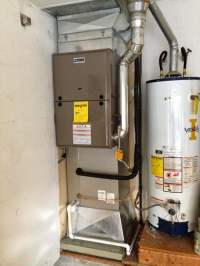 80% Efficient York gas furnace complete with new A/C coil ...