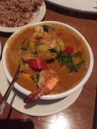 Panang shrimp curry - Yelp