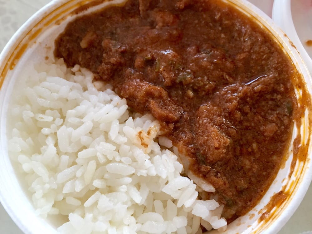 The Pastele Shop - Honolulu, HI, United States. Stew bowl with white rice