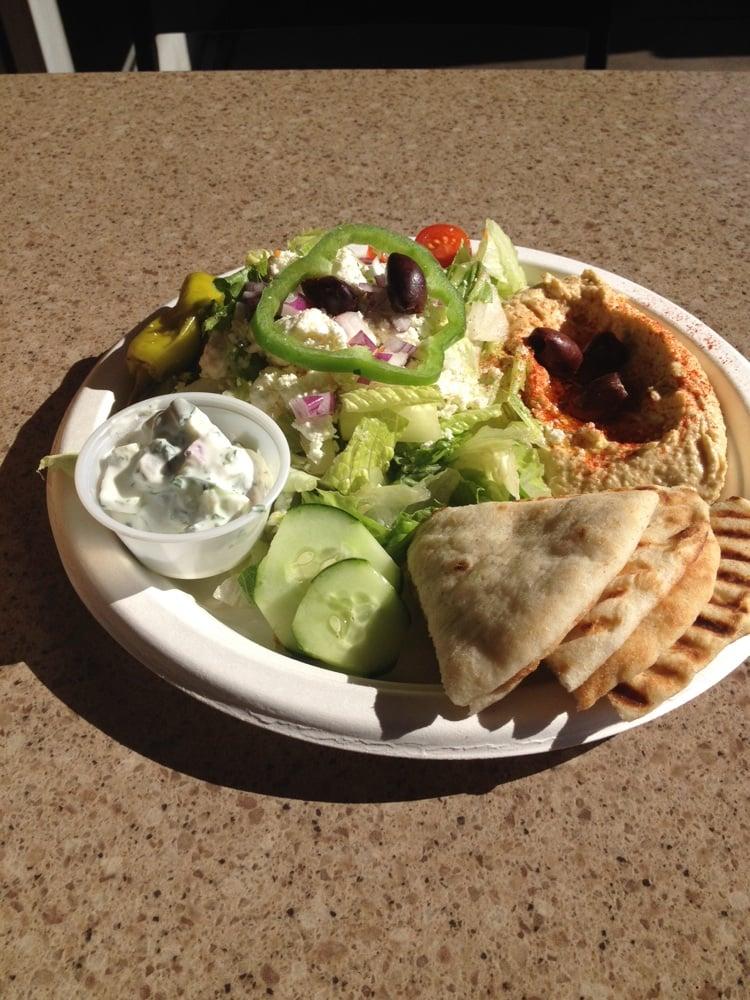 Hummus  salad plate  Yelp