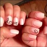 gel nail design idea