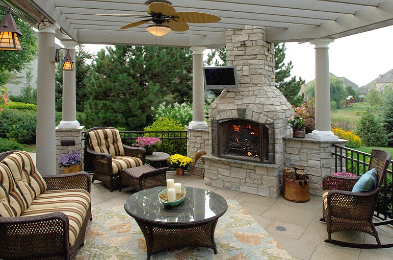 Outdoor Fireplace Kits Yelp