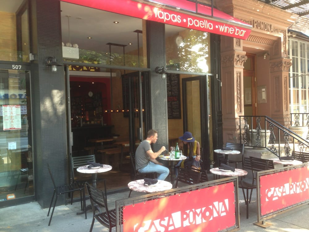 Lovely outdoor terrace  Yelp