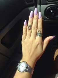Lavender coffin nails - Yelp