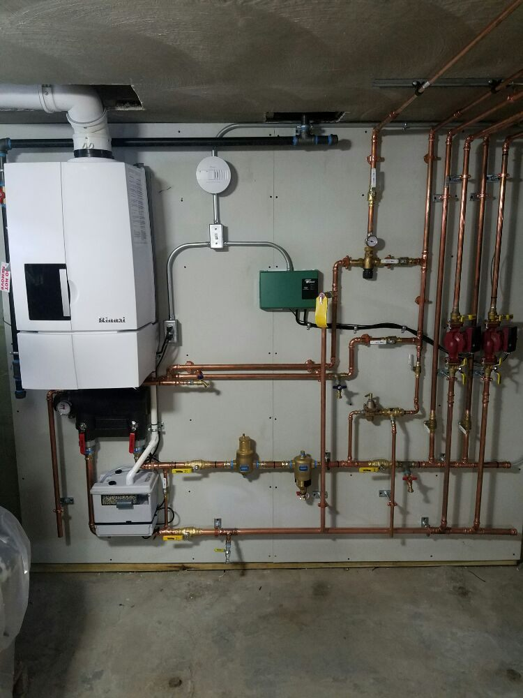 Rinnai Combination Boiler On Demand Tankless Water Heater