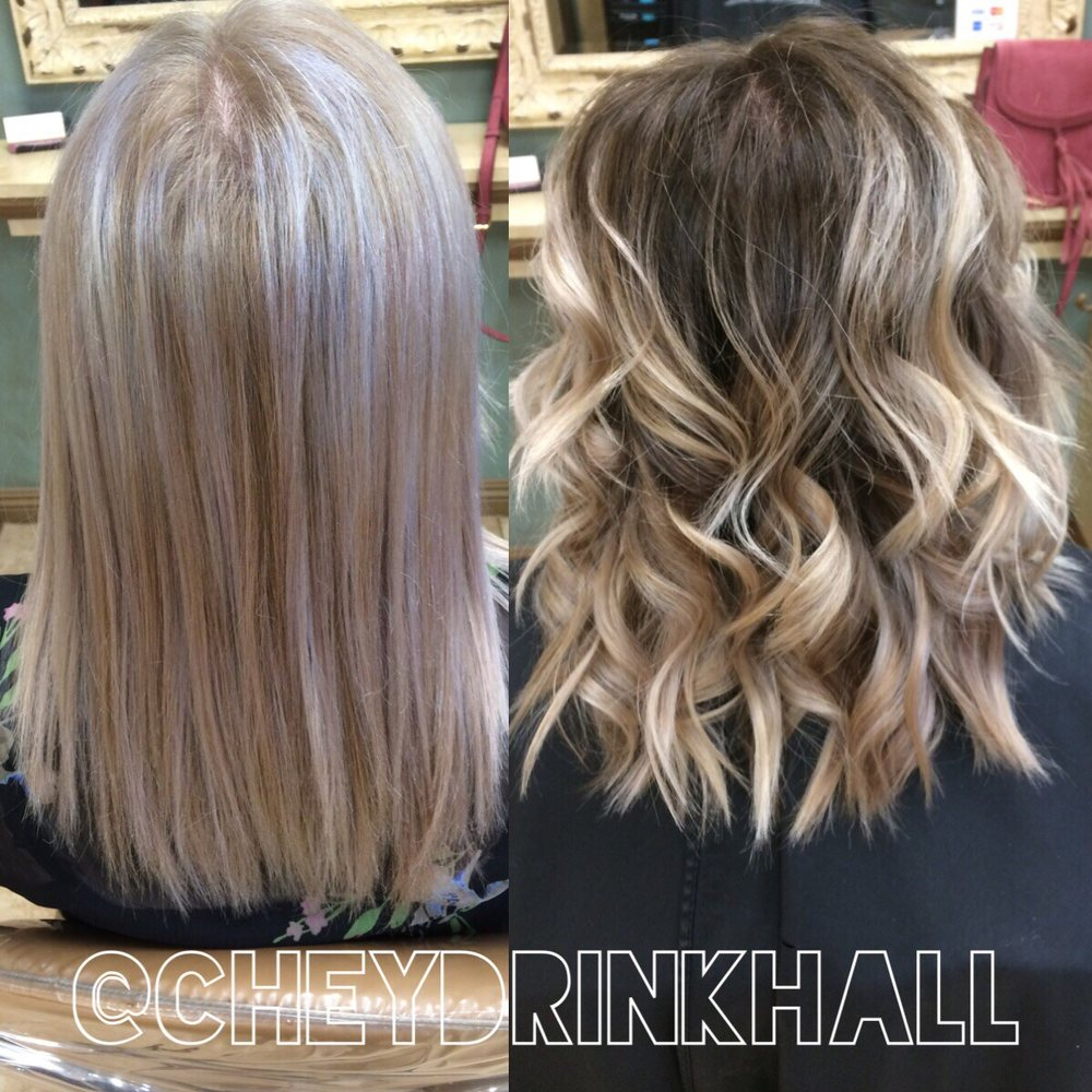 Color Correction And Shadow Root Technique By Cheyenne R