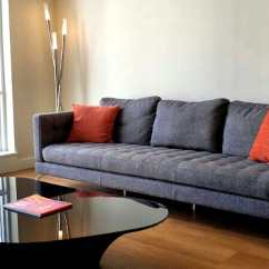 Kasala Sydney Sofa Pastel Blue My Brother S New Furniture Coffee Table And Lamp Photo Of Seattle Wa United States