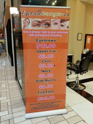 Perfect Eyebrows Tysons : perfect, eyebrows, tysons, Eyebrow, Threading, Tysons, Corner, EyebrowShaper