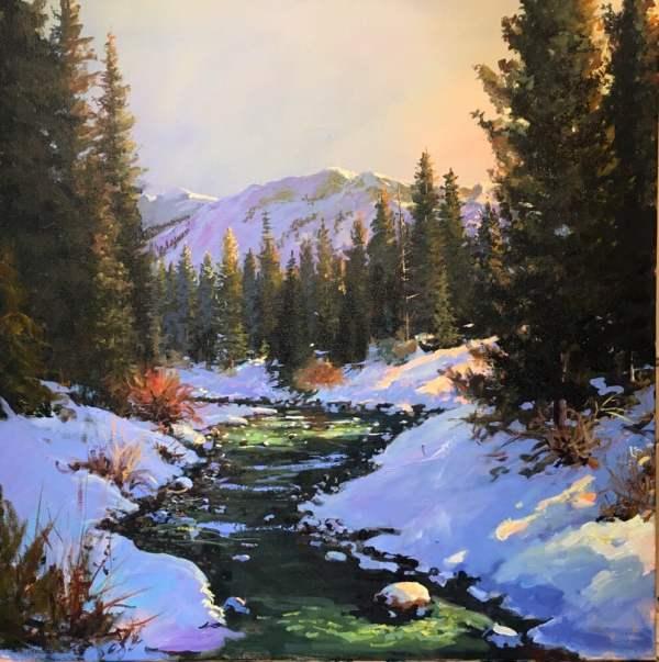 """evening Light"" Acrylic Artist Jerry Georgeff - Yelp"