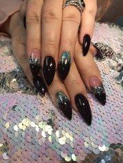 dark purple with galaxy chrome