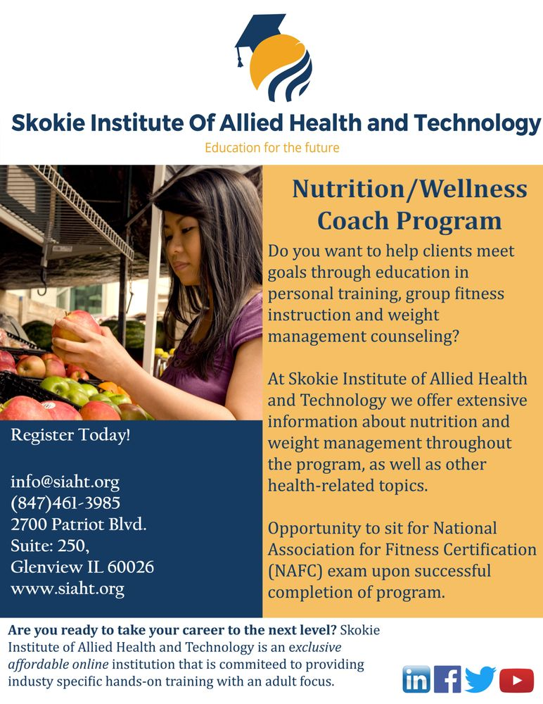 Nutrition Wellness Coach Program
