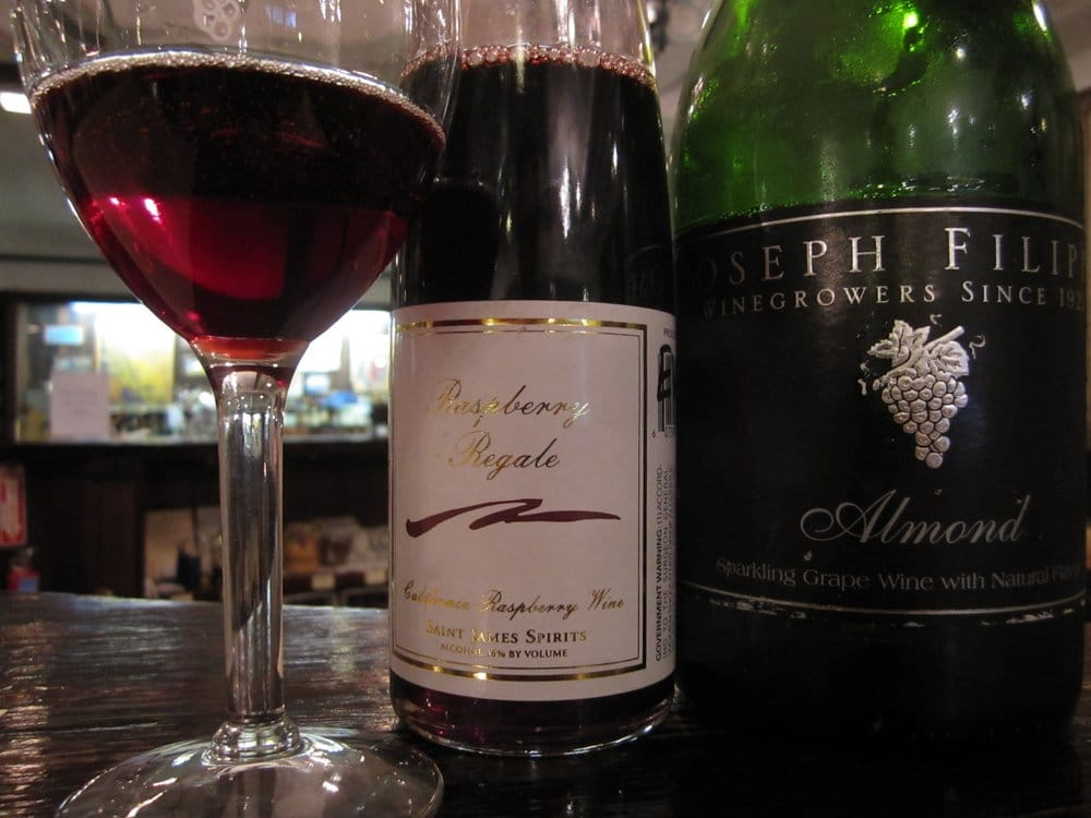 Raspberry Regale  Almond Champagne  DELICIOUS  Yelp
