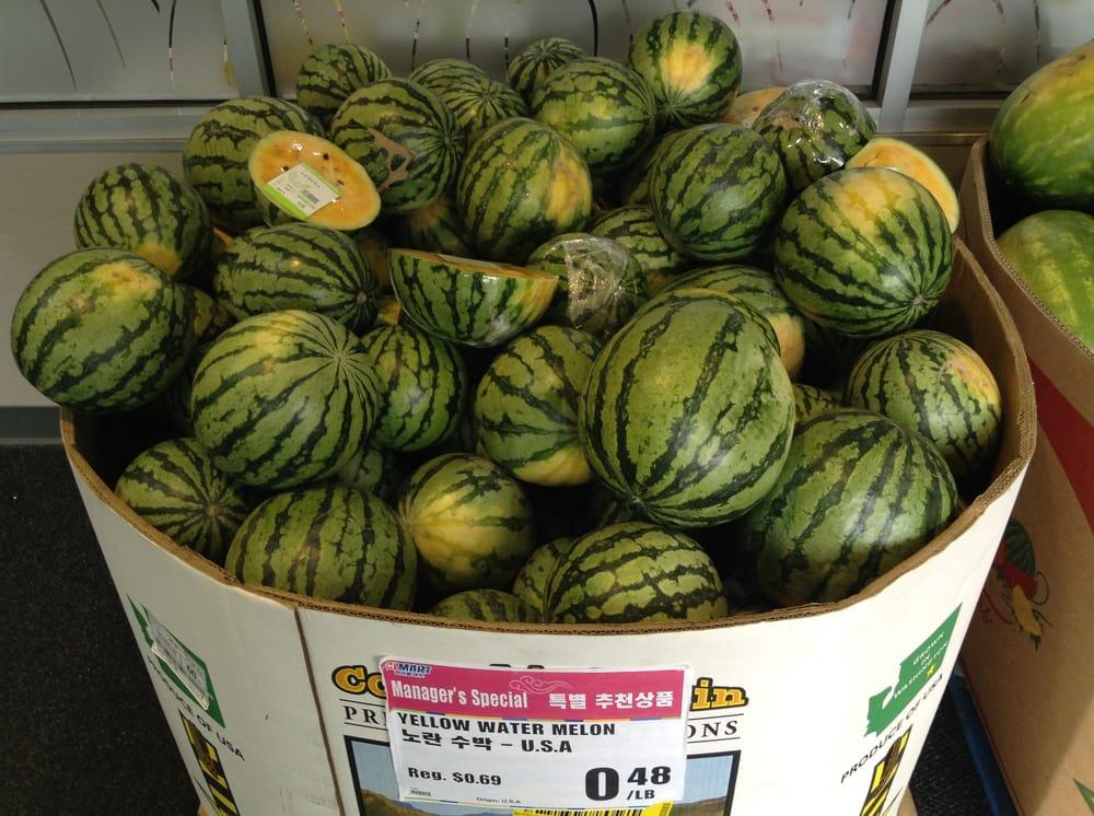 Yellow watermelons - Yelp