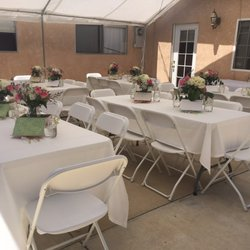 table chair rentals 2 swivel patio set top 10 best and in carson ca last updated lopez party rental