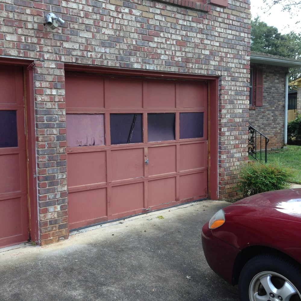 Old wooden Garage doors  Yelp