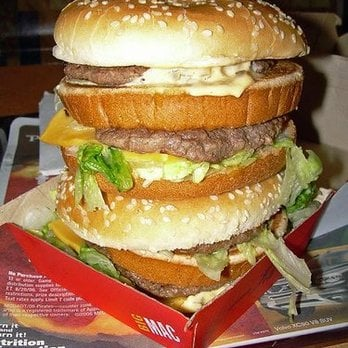 their double big mac