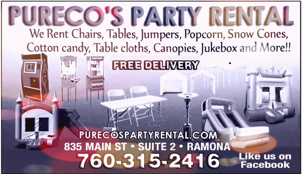 party rentals tables and chairs french country dining room we have linens color overlays organza sash photo of pureco s rental ramona ca united states