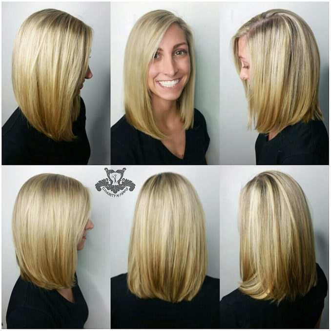 Image Result For Long Bob Back View