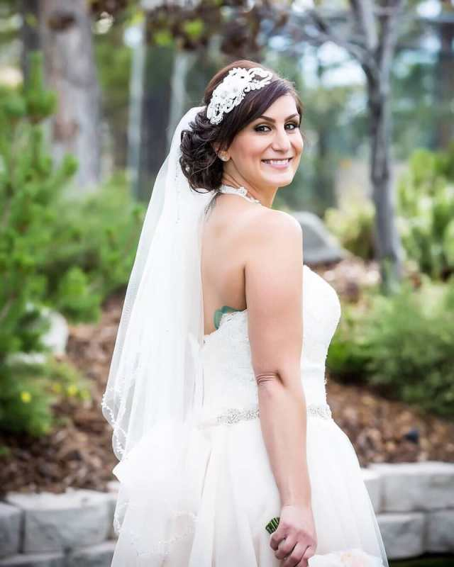 wedding hair and makeup was beautiful - yelp