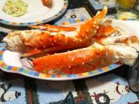 Best damn crab legs. Thank you Costco! I was full after 3 ...