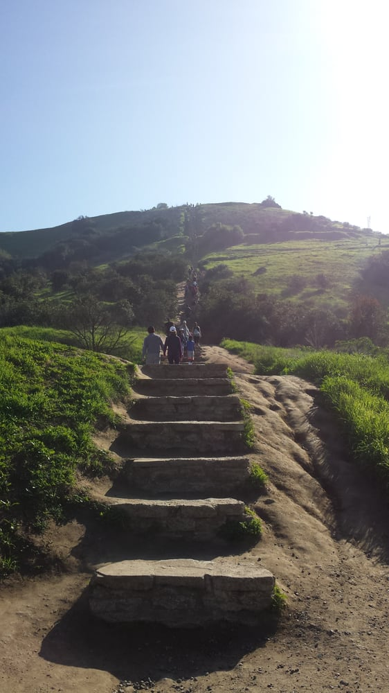 Beautiful Day For The Baldwin Hills Stairs Yelp