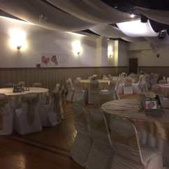 Low Cost Chair Covers Diy Bean Bag Table And Provided At A When We Arrived To Photo Of Local Party Room Bronx Ny United States
