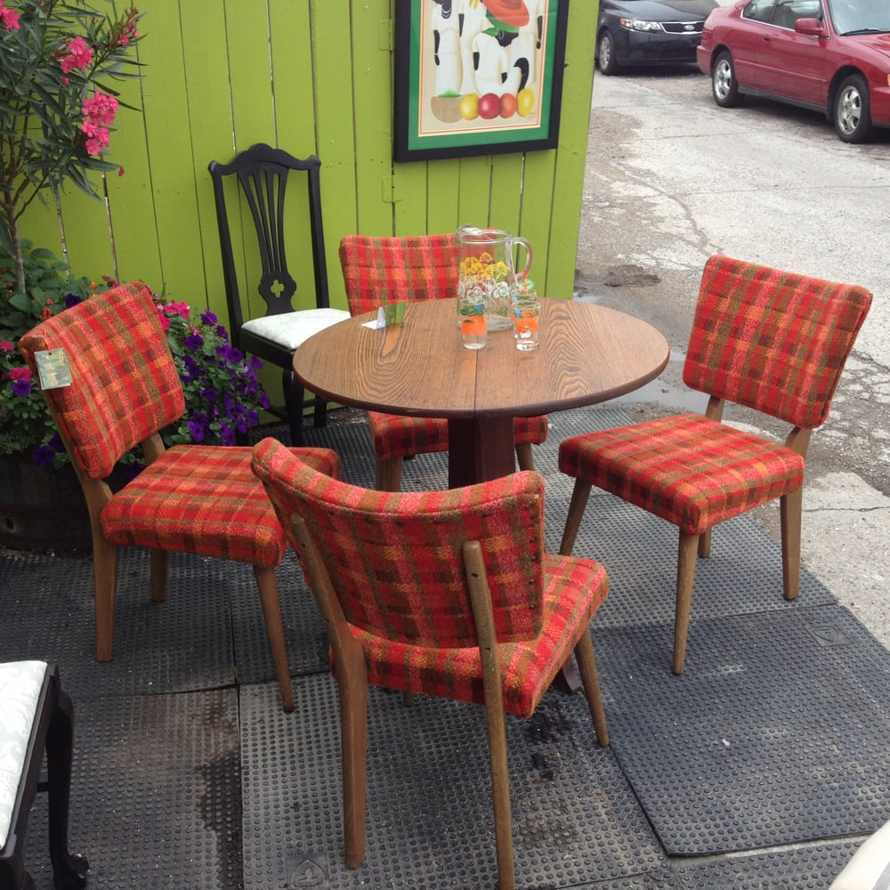 Refurbished Chairs Refurbished Set Of Table And Chairs Featured Outside Yelp