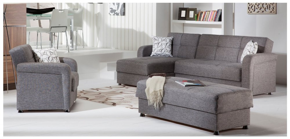 sleeper sofas chicago il how to clean white faux leather sofa sectional with storage yelp photo of american comfort furniture mattress discount united states