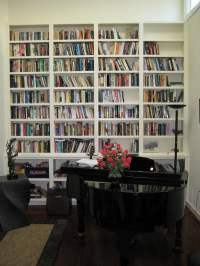 Custom wall bookcase for a San Francisco home. - Yelp