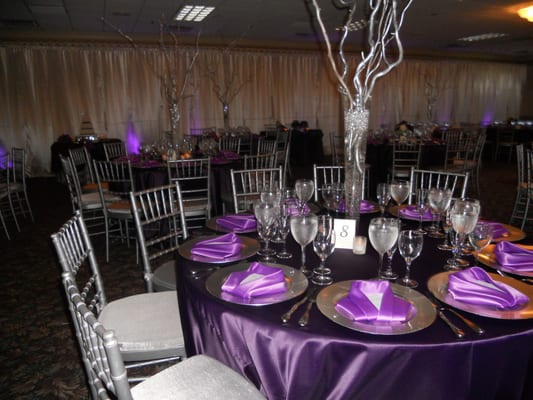 50th Birthday Table Decoration Ideas Photograph