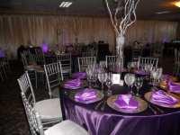 50th Birthday Table Decoration Ideas Photograph | lovely pur