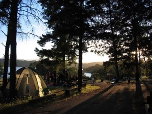 lake mendocino camping