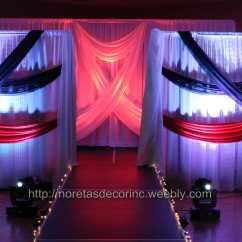 Chair Covers Wedding Near Me 3 In 1 Elegant Event Decoration, Fashion Show Stage, Backdrop | Yelp