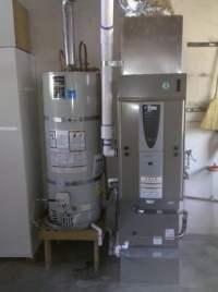 York High Efficiency Furnace Installation