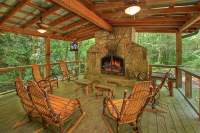 Covered Outdoor Fireplaces   Yelp