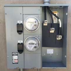 Residential Electric Meter Wiring Diagram Hpm Male Plug Base Types Great Installation Of 400 Amp 200