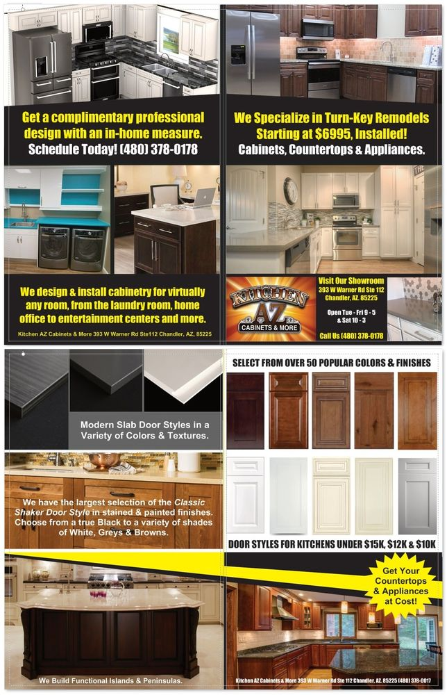 kitchen az cabinets shoes for over 50 door styles finishes colors to select from yelp photo of more chandler united states