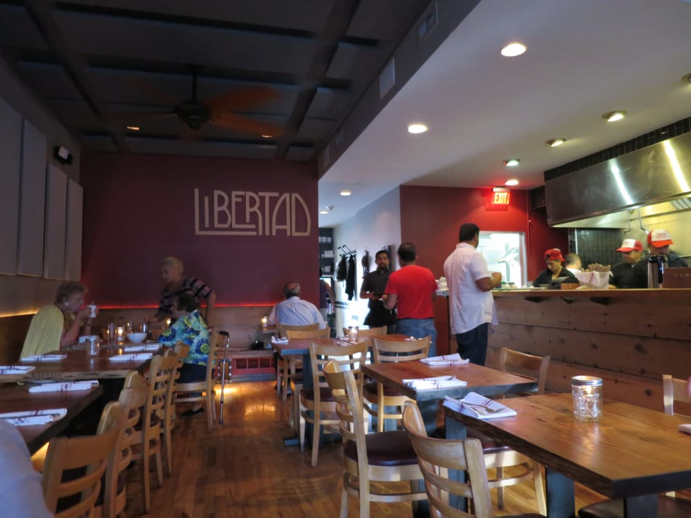 Libertad - Skokie, IL, United States. A better inside dining room view