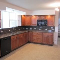 Custom Kitchens Grey Modern Kitchen Cabinets Luther Falls 40 Photos 10 Reviews Photo Of Champaign Il United States