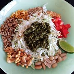 Moh Kitchen Tea Leaf Salad Milpitas United States